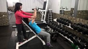 Персональная, фитнес тренировка.